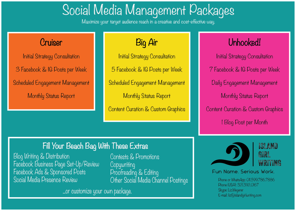 Social media Packages No Price